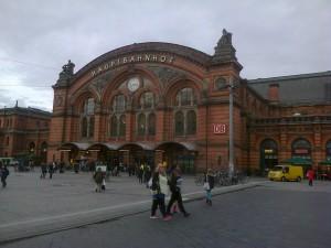 Railway at Bremen