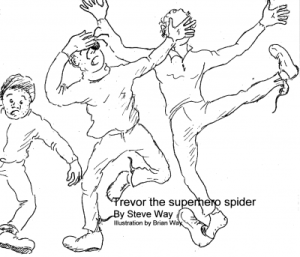 Steve Way - Trevor the superhero spider